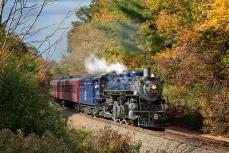 Reading & Northern 425 Port Clinton to Jim Thorpe Solo Fall Trip