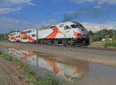 Short vacation on Amtrak to New Mexico via Raton Pass