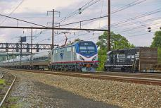 Amtrak's Newest Meets Operation Lifesaver on the NEC