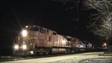 Railroading at Night: Santa Fe on the C&O