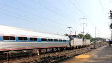 Amtrak/NJT at Princeton Junction, NJ Yesterday