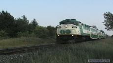 GO Transit at Doncaster