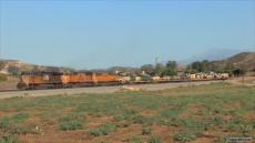 Military Trains in Southern California